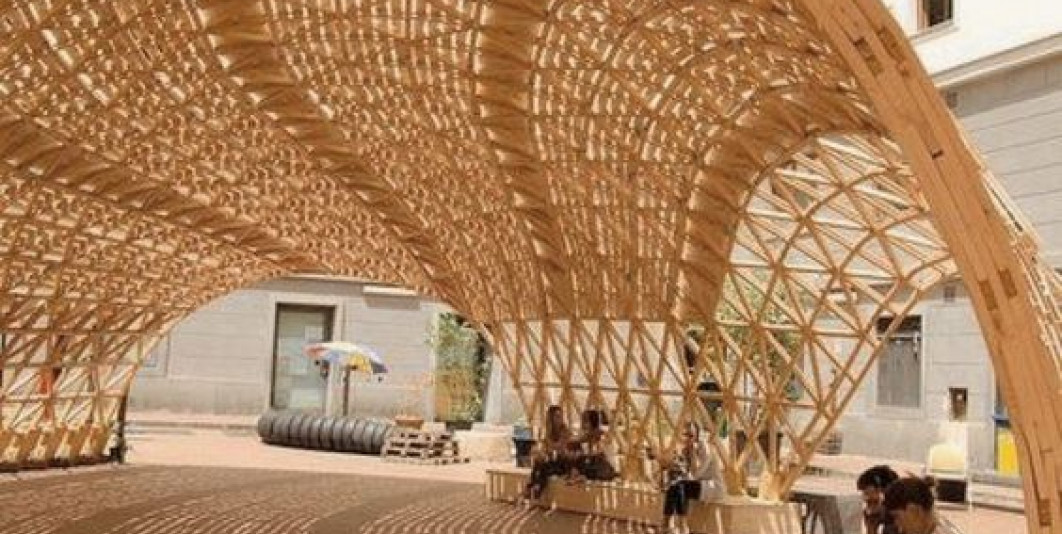 Le mobilier urbain à Agadir