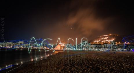 Agadir en nuit