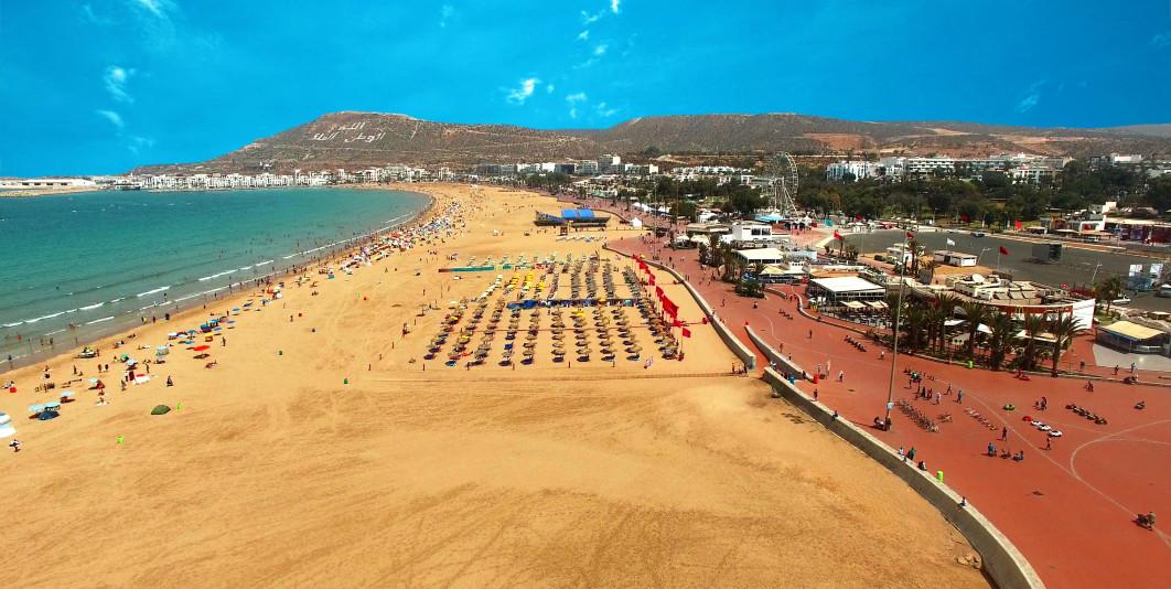 Agadir ... Douceur de vivre : 300 jours de soleil !